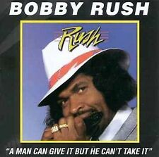 Rush, Bobby: Man Can Give It  Audio Cassette