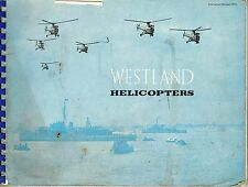 WESTLAND HELICOPTERS: 50s MARKETING BOOKLET RE CIVVY USE OF S51 & S55/ FACSIMILE