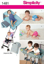 SEWING PATTERN! MAKE BABY SWIM DIAPER~CAR SEAT TENT~TWIN SHOPPING CART COVER!