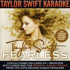 Taylor Swift - Fearless - Karaoke [New CD] With DVD