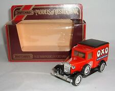 Matchbox Yesteryear No. Y-22, 1930 Model 'A' Ford Van 'OXO Cube' - Superb.