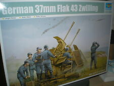 Trumpeter 1/35  German 37mm Flak 43 Zwilling #2347 #02347 *New Release*