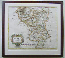 Derbyshire: antique map by Robert Morden, 1695 and later