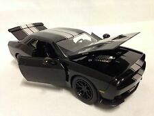2015 Dodge Challenger SRT HELLCAT,Collectible,Diecast 1:24,Jada Toy,Black/Silver