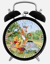 "Winnie the Pooh Alarm Desk Clock 3.75"" Room Decor Y28 Nice for Gifts wake up"