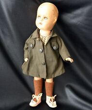 Sleep Eye Open Mouth Composition Doll Girl Scout Brownie