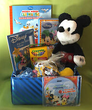 Mickey Mouse Gift Basket w/ personalized CD - name 86Xs