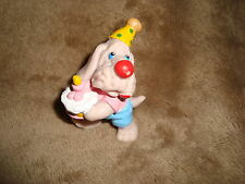 1985 Wrinkles Birthday Cake & Party hat Ganz Bros PVC Figure 2.25""