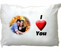 Personalised Pillowcase ~ Any Photo ~ Any Text ~ Great gift  Pillow case printed