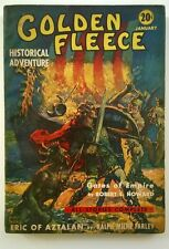 Golden Fleece Jan 1939 Delay Cvr; Robert E. Howard