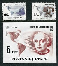 Albania 2421-2423 MNH EUROPA CEPT-1992 500th Ann. of New World Columbus x17217