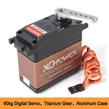 Heavy duty XQ-POWER XQ-S5650D Brushless Motor Digital Servo 60kg/12V HV 178G