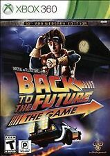 XBOX 360 BACK TO THE FUTURE THE VIDEO GAME 30TH ANNIVERSARY EDITION NEW