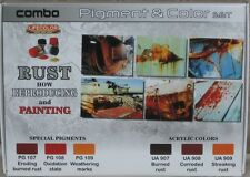 Lifecolor Acrylics LC-SPG03 Rust Pigment and Colour set