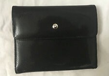 Black & Cream Leather MONT BLANC Wallet Purse RRP £495