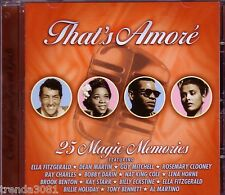 That's Amore PRISM CD Classic 50s 60s Pop ELLA FITZGERALD BILLIE HOLIDAY