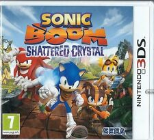 Nintendo 3DS Sonic Boom Shattered Crystal (IMPORT) BRAND NEW