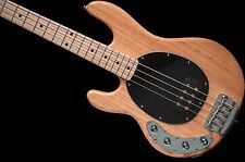 Sterling By Music Man RAY34 LEFTY 4 String Bass Natural w/ gigbag