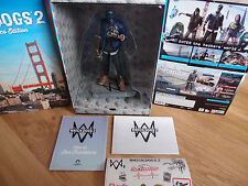 WATCH DOGS 2 SAN FRANCISCO Edition Marcus Figure Statue + Map + Stcikers +