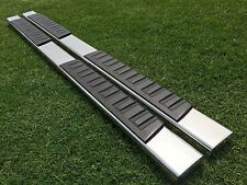 """09-14 FORD F150 Super Crew Cab 6""""Side Bar Running Board  Step Stainless Steel H"""