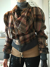 Vivienne Westwood Anglomania Iconic Tartan Jacket Size 8/10 GREAT CONDITION