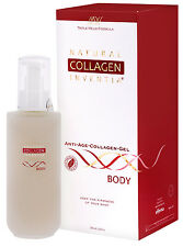 Collagen Serum Body FREE Derma Roller Stretch Marks Firming Skin Pregnancy AU