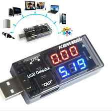 USB Power Charger Current Voltage Detector Tester Monitor Meter for Phone Tablet