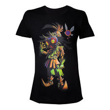 NINTENDO Legend Of Zelda Men's Skull Kid Majoras Mask T-Shirt Extra Large Black