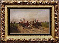 Robert Stone Rare Original Oil Painting on Board Horse Signed Artwork Framed SBO