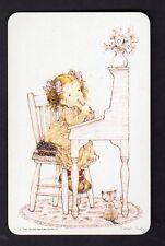 SARAH KAY Swap Card - Cute Girl at Desk Writing (BLANK BACK)