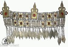 antik Turkmen orient Silber kopfschmuck tekke antique Vintage Turkmen headdress