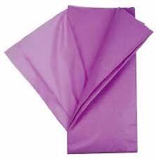 10 feuilles de soie papier mousseline 50 x 75 violet NEUF