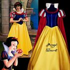 PP134 COSPLAY Dress Princess snow white Costume tailor made kid adult GOWN