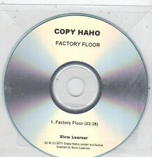 (ET916) Copy Haho, Factory Floor - 2011 DJ CD