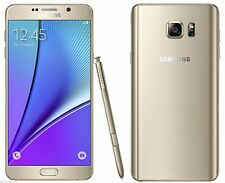 "Samsung Galaxy Note 5 Gold SM-N920C (FACTORY UNLOCKED) 5.7"" QHD , 32GB, 4GB RAM"