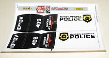 LEGO STICKER SHEET FROM SET 70815 POLICE PART