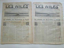 AILES 1931 507 BOSSOUTROT ROSSI IAR COLLEGE PARK RECORD LALLOUETTE PERMANGLE