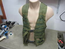 U.S Army / USMC / Woodland Camo Green FLC LBV Molle II Tactical Vest Good Condt