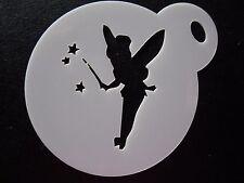 Corte láser Varita Tink Pequeño Diseño Pastel, Cookie, Craft & Plantilla de Pintura de cara