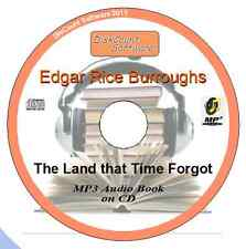 The Land that Time Forgot -Edgar Rice Burroughs MP3 Audio Book 10 chapters on CD