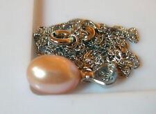 PENDENTIF PERLE LAVANDE 10x8mm... SOUTH SEA SHELL PEARLS