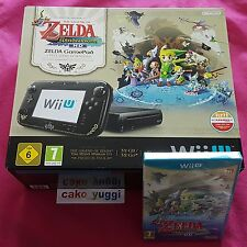 CONSOLE NINTENDO WII U 32 GB NOIRE THE LEGEND OF ZELDA WINDWAKER PREMIUM PACK