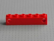 Lego électrique-Rouge 1 x 6 Stud prisme titulaire-TRAIN lumières - (4170)