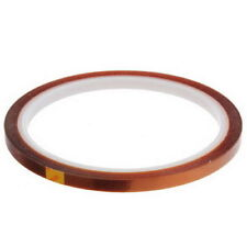 1 HEAT TRANSFER RESISTANT TAPE  ADHESIVE 5mm x 33m POLYIMIDE SUBLIMATION