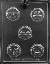 Emoji Cookie Oreo Sandwitch Party Favor Chocolate Mold  Candy Same day ship m351