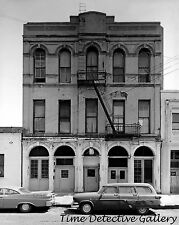 Skid Row Rooming House, Front & K Sts., Sacto, CA -1950s- Classic Photo Print