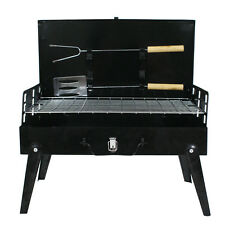 New Charcoal Grill Portable BBQ Camping Grilling Barbecue Smoker Cooking Outdoor