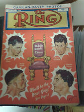 THE RING BOXING MAGAZINE, APRIL 1953, VERY GOOD CONDITION
