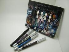 URBAN DECAY NIB SET OF 5 DELIRIOUS 24/7 GLIDE-ON EYE PENCIL, TRAVEL SIZE LINERS