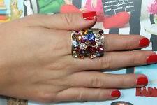 Kate Spade Disco Fever Kaleidoscope Statement Ring Size 7- Truly Captivating!!